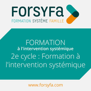 Formation Inter 2e cycle de formation à l'approche systémique